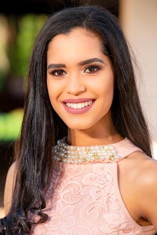 Candidata Nº 2 - ELIZABETH VILLALBA RUIZ DÌAZ, edad 18 años