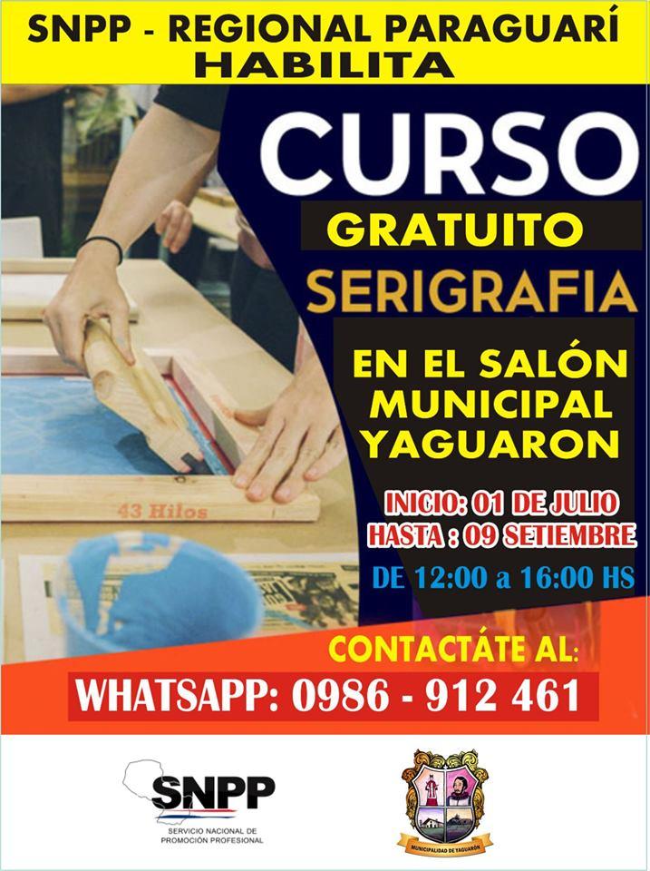 CURSO DE SERIGRAFÍA