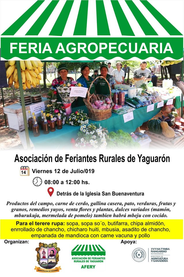 FERIA DE PRODUCTORES AGROPECUARIOS