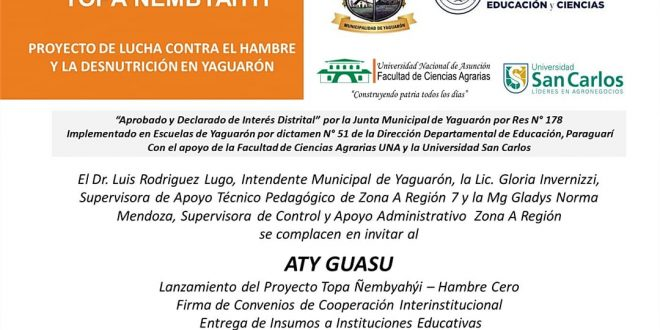 """""""Proyecto Topa Ñembyahyi"""""""